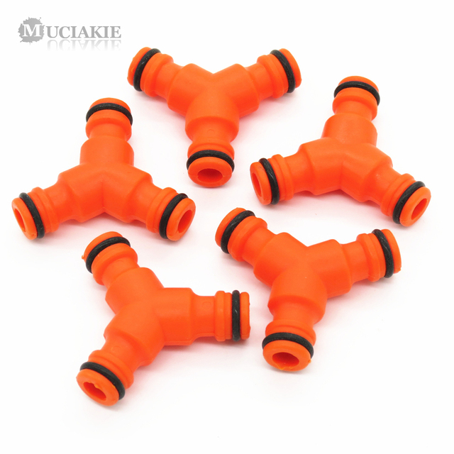MUCIAKIE 2PCS 3-Way Coupling Hose Connector Hose End Fittings Garden Watering Hose Coupling Triple  sc 1 st  AliExpress.com & MUCIAKIE 2PCS 3 Way Coupling Hose Connector Hose End Fittings Garden ...