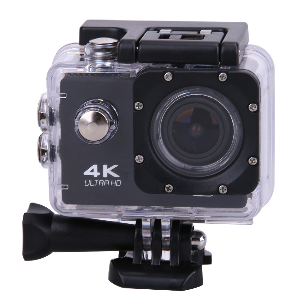ФОТО Waterproof 2.0 inches High Definition Color Screen Action Camera F60/F60R 2.4G Remote Ultra HD 4K 12mp Action Video Camera