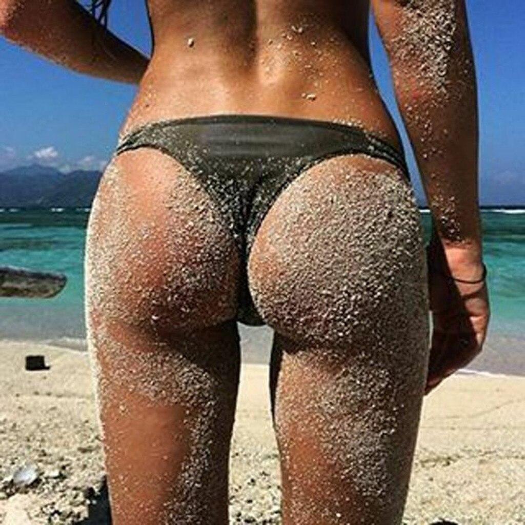 S-6XL Sexy tiny brazilian bikini bottom female swimwear women G-string Briefs micro mini Thong Panties Underwear Plus size Tanga