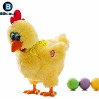 BDCOLE Shaking Legs Funny Chicken Toy Trick Hen Lay Egg Shocker Joke Family Game Toys Kids