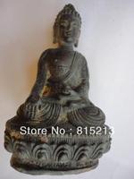 wang 000154 Old China Bronze Kuan Yin Buddha Statue
