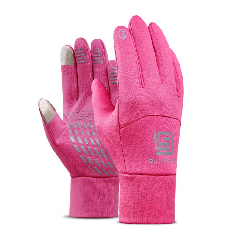 Winter Outdoor Sports Gloves Touch Screen Unisex Waterproof And Windproof Warm Plus Velvet Riding Ski Gloves