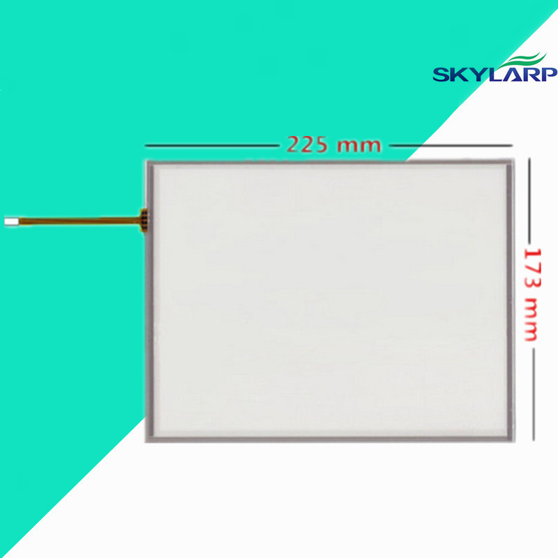 10.4 inch 4 wire 225mm*173mm Resistive Touch Screen Digitizer for AMT 9509 BIndustrial equipment ;armamentarium amt 146 115 4 wire resistive touch screen ito 6 4 touch 4 line board touch glass amt9525 wide temperature touch screen