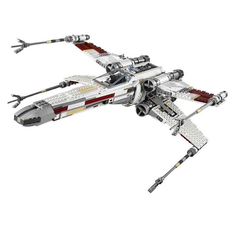 Lepin 05039 1616pcs Star War Series UCS Rebel Red Five X wing Starfighter Set Building Blocks Bricks gifts for children 10240 lepin 05039 star wars red five x wing starfighter figure blocks construction building bricks toys for children compatible legoe
