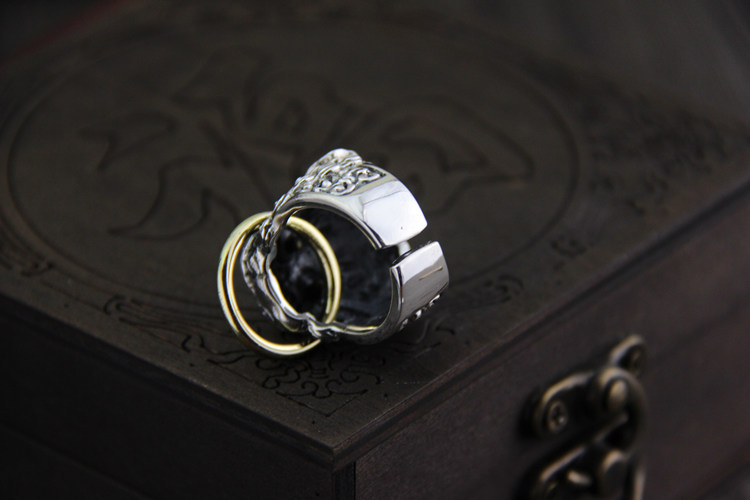 Aliexpresscom Buy 925 sterling Thai silver vintage open size