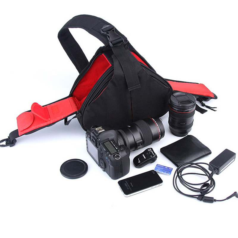 Zaino impermeabile Spalla Camera Bag custodia Per Nikon DSLR D7100 D7000 D5200 D5300 D3300 D3200 D3000 P900 D5500 D7200 D900S