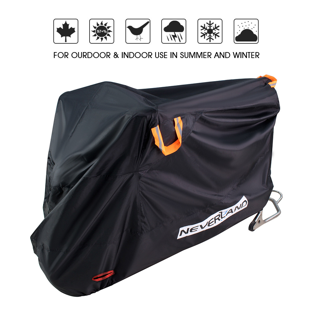 Indoor Outdoor Full Motorcycle Scooter Motorbike Cover Anti Protective Covers Coats Water Dust Proof UV Sun