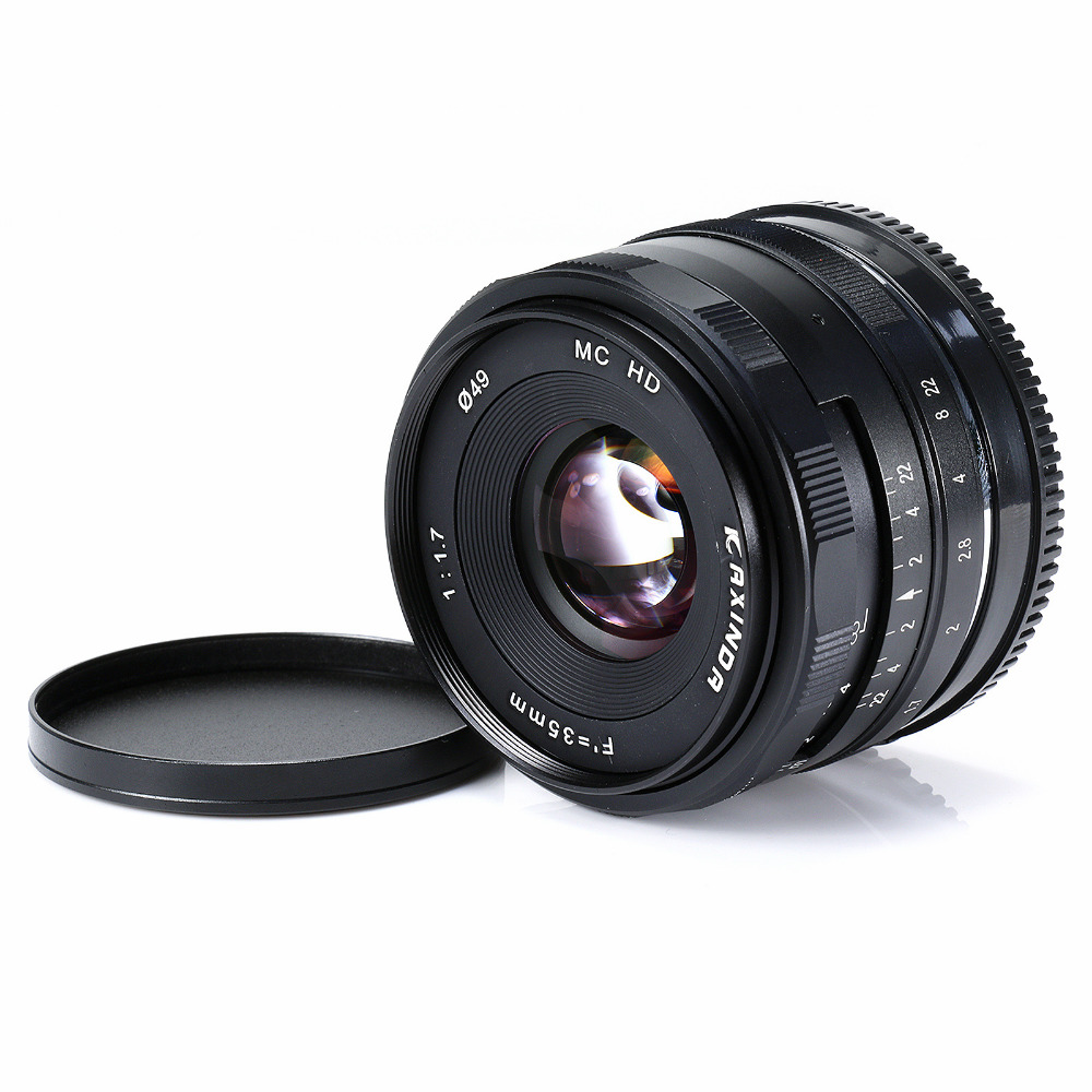 KAXINDA 35mm 1: 1.7 lens For Sony Digital Camera NEX-3 C3 F3 3N NEX-5 5C 5N 5R 5T NEX-6 NEX-7 ILCE-3000 ILCE-5000 5100 ILCE-6000 l22 protective nylon carrying bag for sony nex 7n ne 5n nex f3 black blue