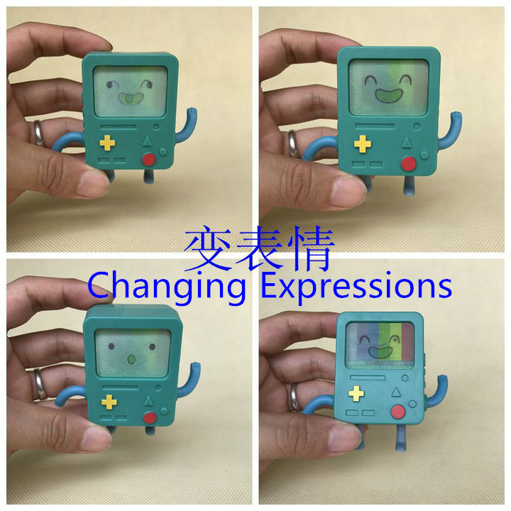 Original Garage Kit 7cm Classic BMO Adventure Time Changing Faces Muti Expression Action ...