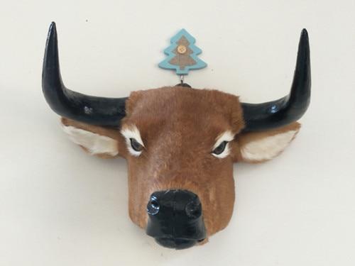 creative simulation Retro cow head model polyethylene & furs brown cow head doll gift about 28x35cm 2533creative simulation Retro cow head model polyethylene & furs brown cow head doll gift about 28x35cm 2533