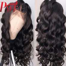 Lace Front Human Hair Wigs Tight Body Wave Pre Plucked Hairline With Baby Hair 10- 28 inch Malaysian Remy Human Hair Wigs PAFF