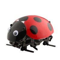 Ocday rc الخنفساء خنفساء اللعب diy التحكم عن محاكاة صرصور الحشرات الإلكترونية لعب للأطفال أطفال هدية عيد الميلاد