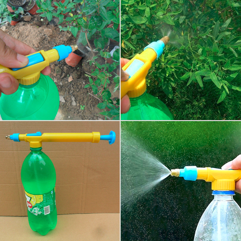 Bottles Sprayer-Head Trolley Water-Pressure Squirt-Gun Plastic Mini Juice-Interface Hot-Search