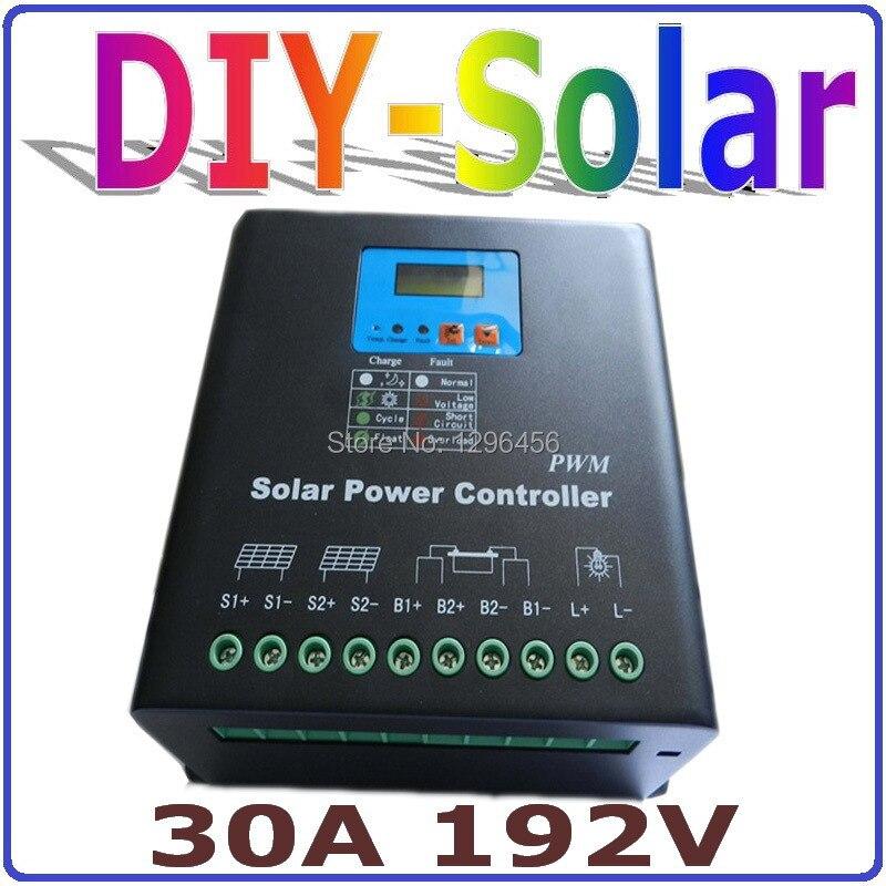 Высокая Напряжение 192 В 30A солнечной системы контроллера заряда, 192 В Батарея регулятор 30A для 6000 Вт pv панелей Модули, двойной вентилятор охла