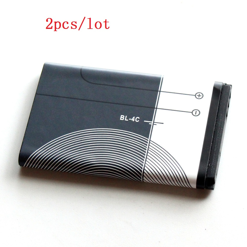 BL 4C Original Mobile Phone Battery For Nokia BL 4C 5100 6100 1202 1265 1325 1506