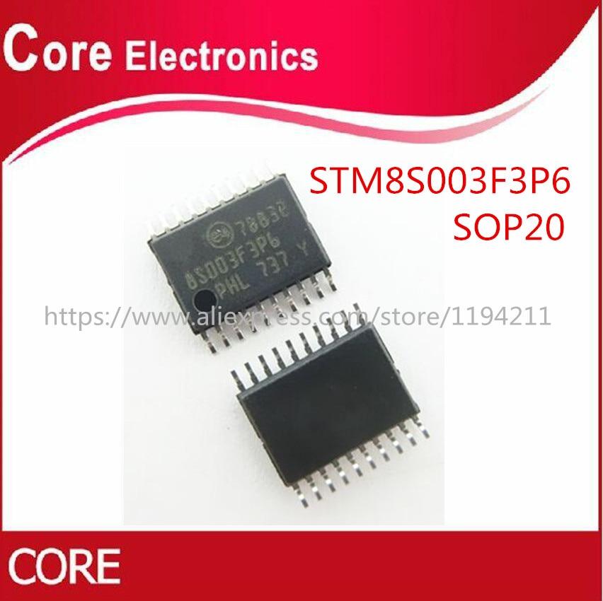 100pcs lots 8S003F3P6 STM8S003F3P6 TSSOP 20 New original IC