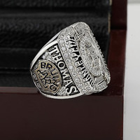 Solid Boston Bruins 2011 World Series Ring Copper Ring World Championship 10 11 12 Size 18