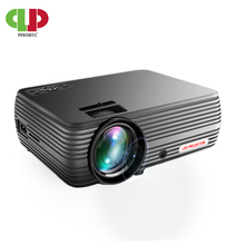 Powerful Android 6.0 WIFI Smart Projector Mini LED 3D TV Pro