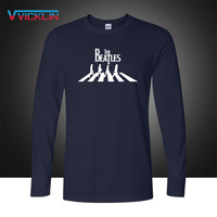 The Beatles Abbey Road Metal Rock Men S T Shirt Fashion 2016 Long Sleeve O Neck