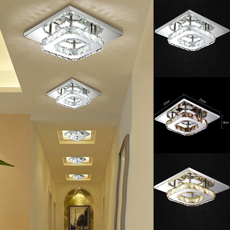 Modern Crystal LED Ceiling Light Pendant Flush Mount Lighting Fixture Chandelier mymei modern new crystal led ceiling light fixture pendant lamp lighting chandelier