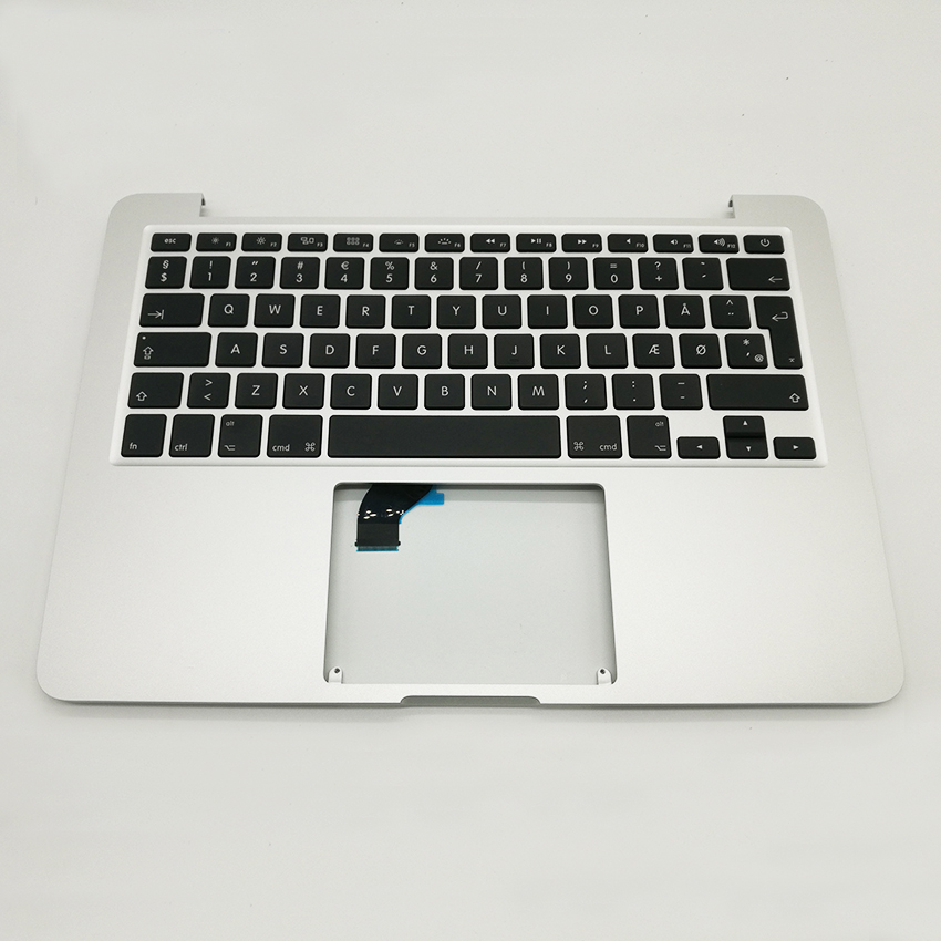 New TopCase with Denmark Danmark Danish Keyboard For MacBook Pro Retina 13.3 A1502 2015 2016 Year