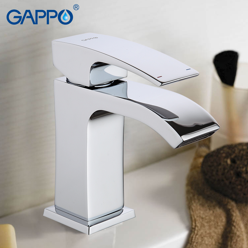GAPPO Basin Faucet Water Tap Bathroom Basin Mixer Tap Waterfall Faucet Bathroom Taps Torneira Para Banheiro Wash Basin Faucets