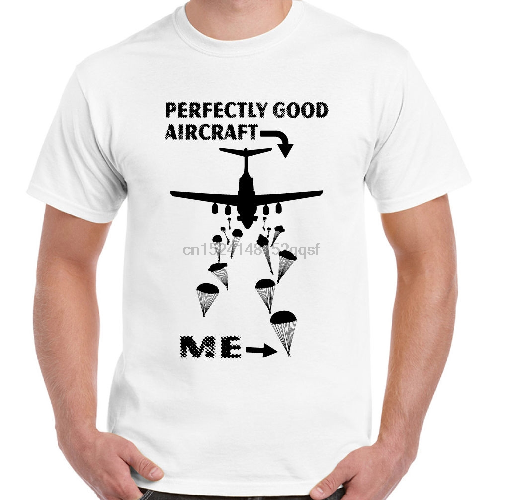 To Those That Are Paras Mens Funny T-Shirt The Parachute Regiment 1 2 3 410 Reg