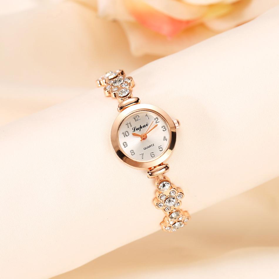 Lvpai 2016 Summer Style Gold Watch Brand Watch Women Wristwatch Ladies Watch Clock Female Wristwatches Stainless Gold Watches 10