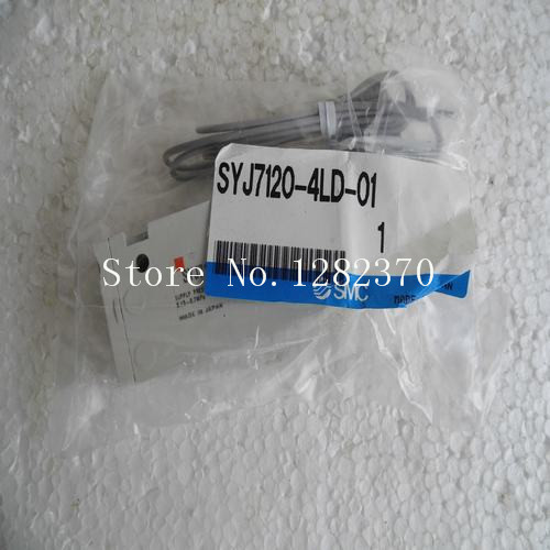[SA] New Japan genuine original SMC solenoid valve SYJ7120-4LD-01 spot --2PCS/LOT[SA] New Japan genuine original SMC solenoid valve SYJ7120-4LD-01 spot --2PCS/LOT