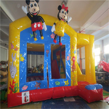 inflatable bouncer bouse,kids inflatable trampoline YLW-bouncer 180