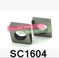 10 ADET SC1604 Sert alaşım Shim CNC aracı aksesuarları  uygun MCLNR/MCKNR/MCGNR/MCMNN/MCBNR/MCSNR  INSERT  CNMG1606