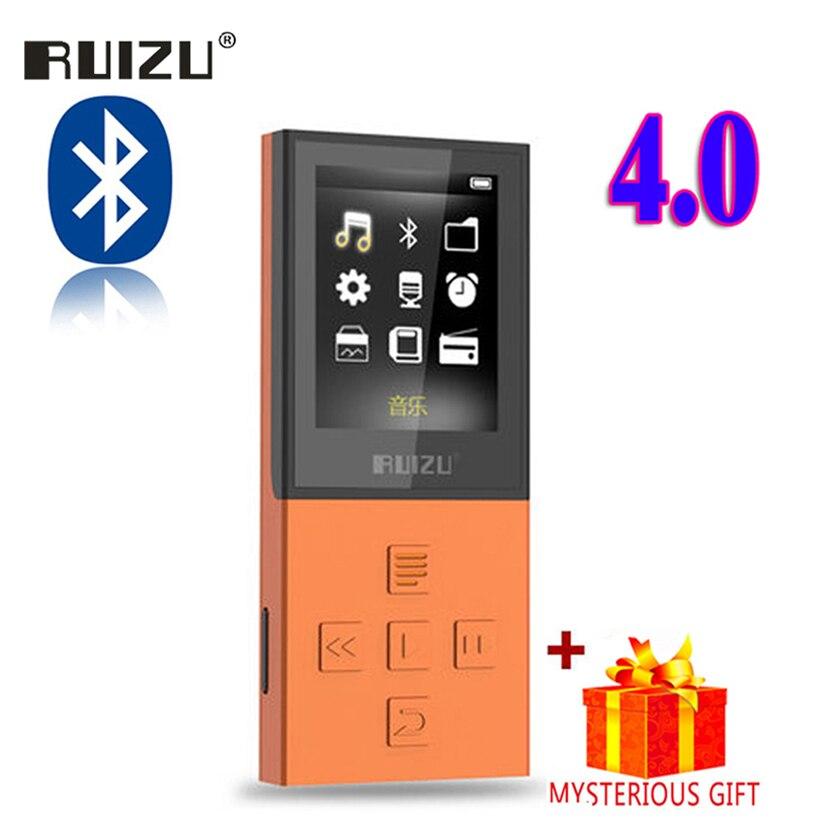 Ruizu X18 Lossless Digitale Dello Schermo di Sport Hifi Audio Mp 3 Mini Musica Mp3 Lettore Bluetooth FM Radio 8 gb Con flac LCD Corsa e Jogging WAV