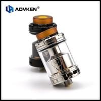 Original Advken E Cigarette Manta RTA 5ml 24mm Diamater Atomizer Tank 3 Adjustable Airflow 810 Drip