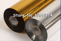 0 7X131 Yds Gold Foil Paper Hot Stamping Heat Transfer Print Package Craft DIY A