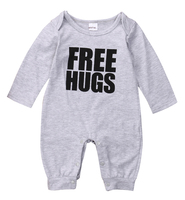 Hi Hi Baby Store Newborn Infant Baby Boys Long Sleeve Body Romper Jumpsuit Outfits Cotton Clothes