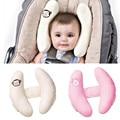 Carrinho de bebê almofadas infantil assento de carro cabeça e pescoço proteção travesseiro unissex suave apoio de cabeça ajustável carrinho de acessórios