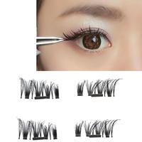 Ultra Thin 0 5mm Magnetic False Eye Lashes 3D Reusable False Eyelash Magnet Fake Eyelashes Makeup