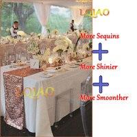 12x120 Inch-30x300cm سباركلي الذهب الترتر عداء الجدول عداء سماط الديكور ل حفل زفاف عيد
