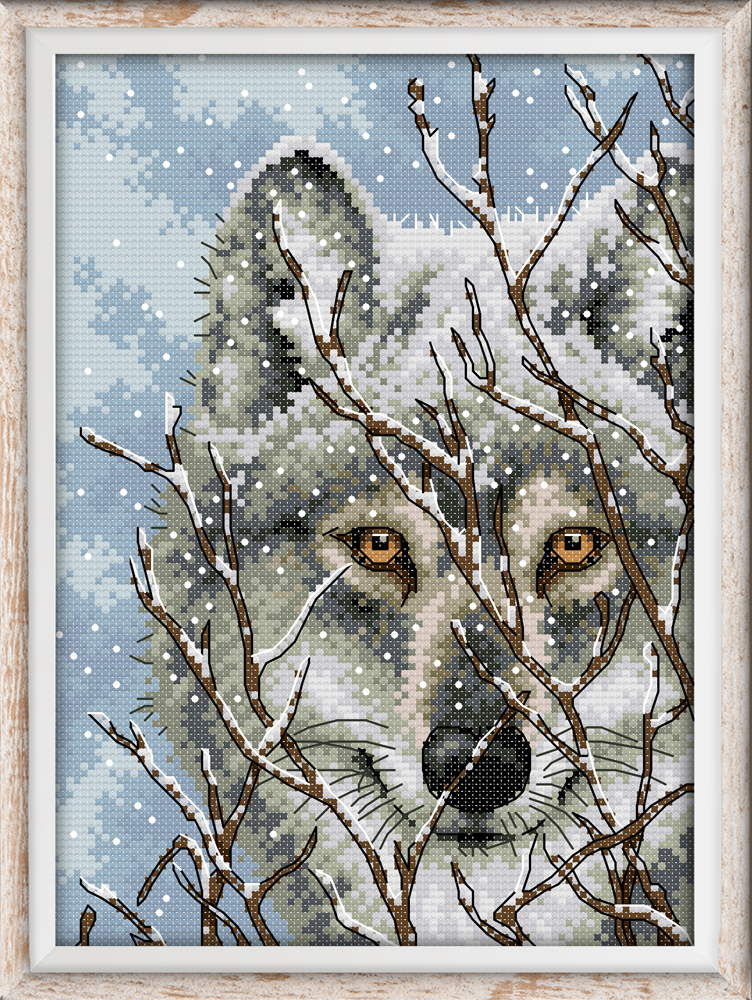 Electronic Components & Supplies Humor Joy Sunday A Sled Dog Cross Stitch Pattern Kits Handcraft Make Embroidery With Chart