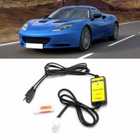 NEW Car CD Changer MP3 Player Audio Interface AUX SD USB Data Cable Connect For Mazda