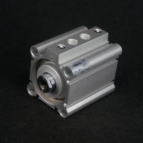 RDQB50-30 Compact Cylinder With Magnet Air Cushion Bore 50mm Stroke 30mm Through-hole