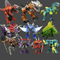 6 Style Original Box transformation 4 Tyrannosaurus Stegosaurus Anime Robots Figures Toy Gifts For Kids Juguetes Brinquedos