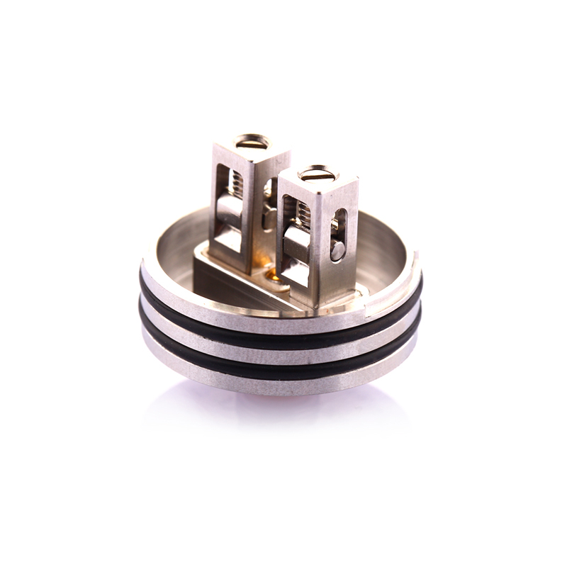 In stock Hellvape Passage RDA Tank 24mm Electronic Cigarette Atomizer 2 Post with 510 BF Squonk Pin For vape Squonkor Mod-in Electronic Cigarette Atomizers from Consumer Electronics    2