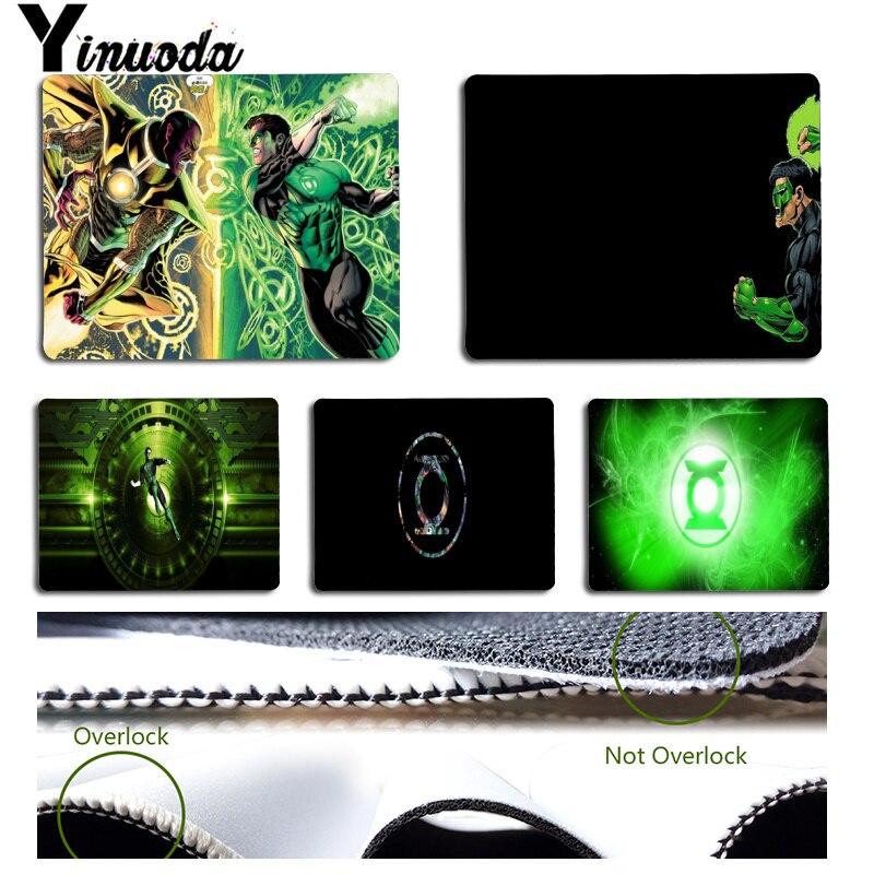 Yinuoda новые конструкции Hero зеленый Фонари офисных мышей геймер мягкие Мышь Pad Размеры для 18x22 см 25x29 см Малый Мышь pad