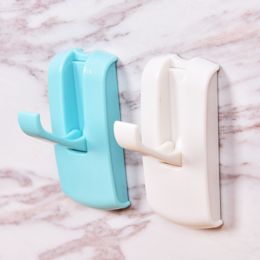 1 PC Strong Self Adhesive Wall Door Hook Suppressible Kitchen ...