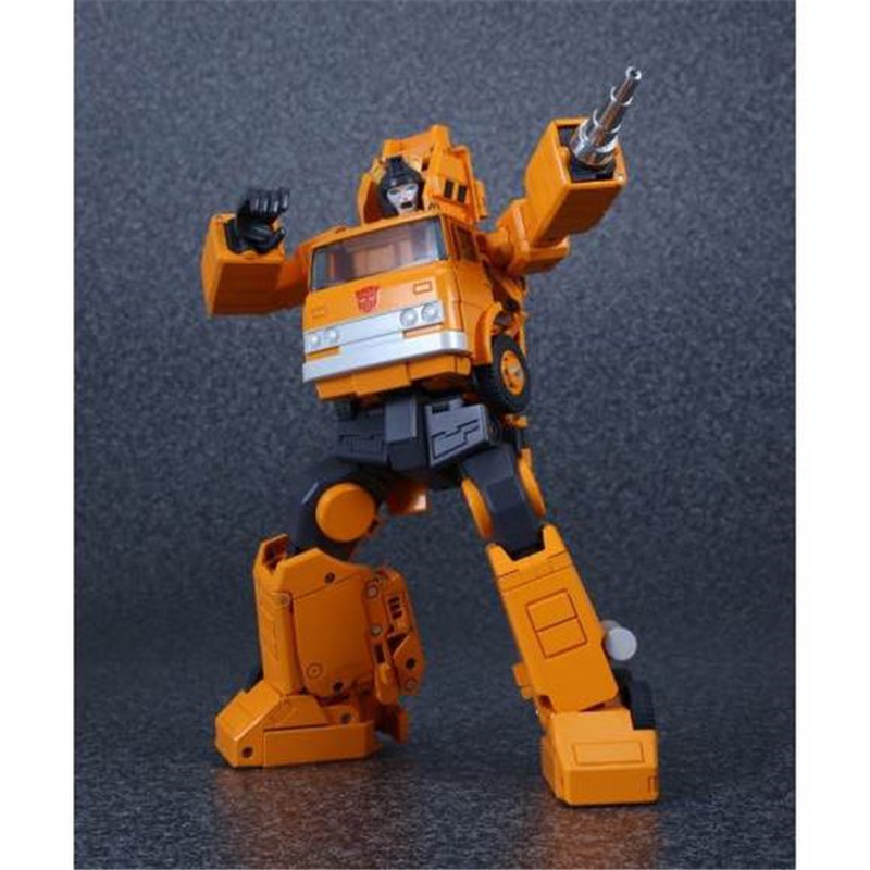 4th Party Masterpiece MP-35 Grapple Transformation Action Figure Grapple Crane Retail Box KO Collection Version  Robot Toys