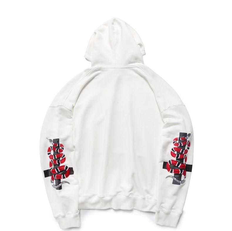 HTB1dbT9XiDxK1RjSsD4q6z1DFXaC - HEYGUYS2018 New Spring Hoodie Mens Hip pop Sweatshirts Harajuku hip hop Cross double snake embroidey Long Sleeve Hoody Clothing