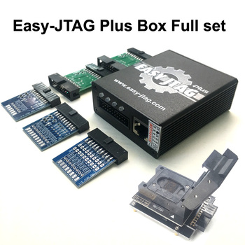 2019 Nova versão conjunto Completo caixa de caixa Fácil-Jtag Jtag Fácil plus plus + EMMC soquete Para HTC/ huawei/LG/Motorola/Samsung/SONY/ZTE