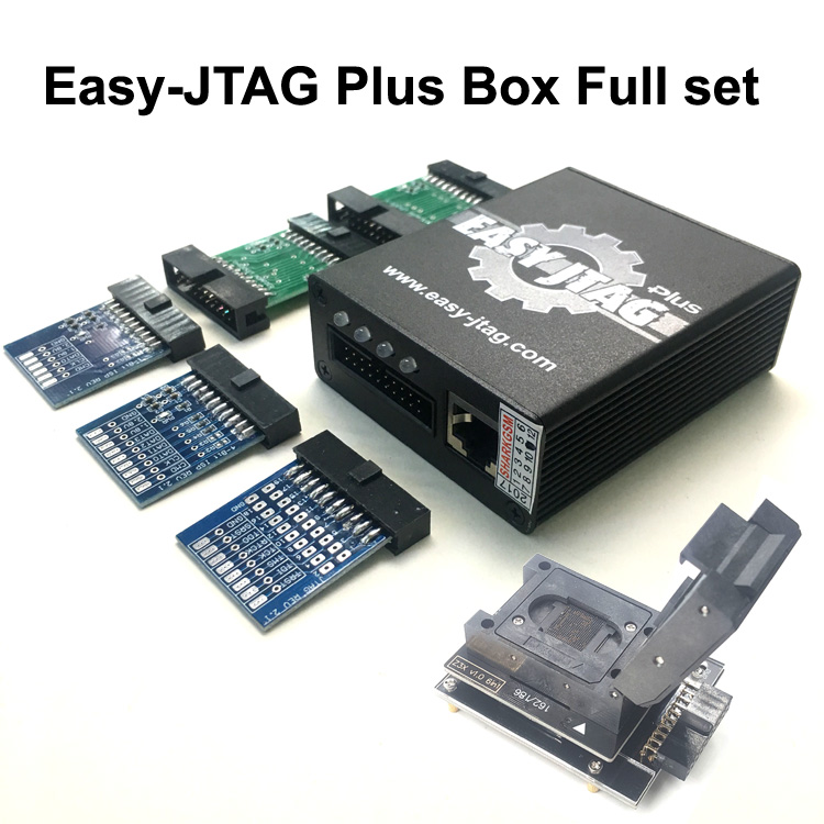 Nouvelle version ensemble Complet Facile Jtag plus boîte Facile-Jtag plus boite + EMMC prise Pour HTC/Huawei /LG/Motorola/Samsung/SONY/ZTE