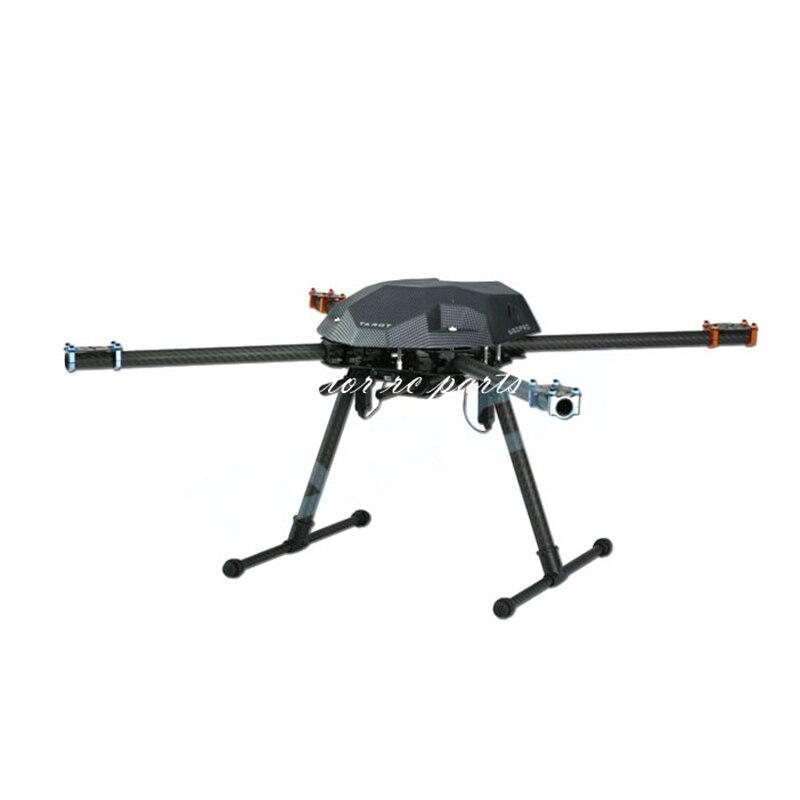 Tarot TL69A02 Metal Electric Retractable Landing Gear Skid Kit for Tarot XS690 TL69A01 Wheelbase 400-700 RC Multicopter FPV bkt skid power hd 23 8 50 12 6pr tl